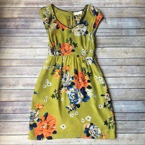 🌼HP🌼 Anthro Moulinette Soeurs Silk Dress